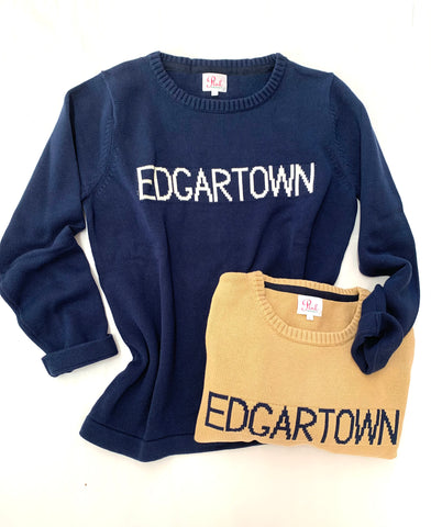 EDGARTOWN sweater in 100% cotton