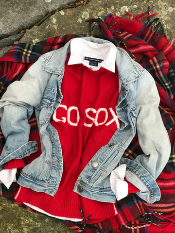 GO SOX Sweater RED