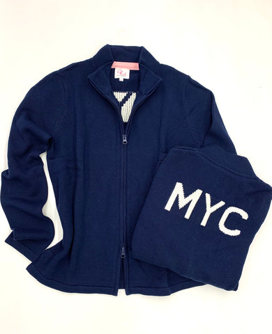 MYC Yacht Club Full Zip Sweater