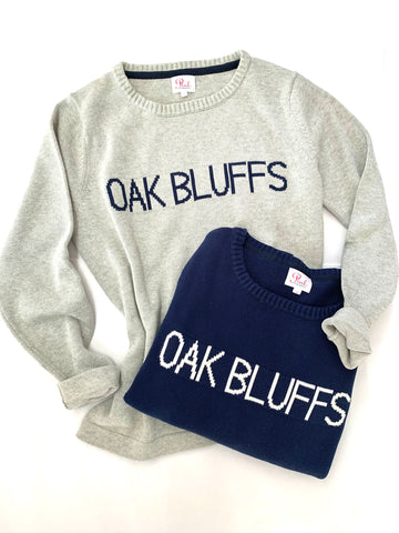 OAK BLUFFS sweater in 100% cotton