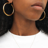 Penepole Gold Hoop earrings