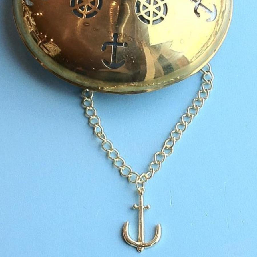 Anchor Pendant 16""