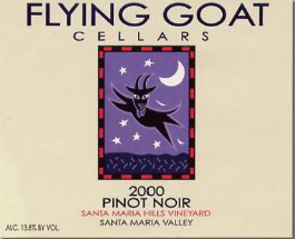 year 2000 pinot noir label