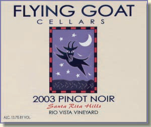 2003 Pinot Noir, Rio Vista Vineyard Label Image