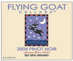 2004 Pinot Noir, Rio Vista Vineyard Label Image