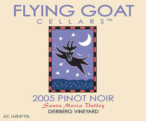 2005 Pinot Noir, Dierberg Vineyard Label Image