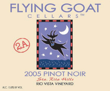2005 Pinot Noir, Rio Vista Vineyard Clone 2A Label Image