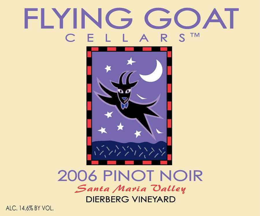 2006 Pinot Noir, Dierberg Vineyard Label Image