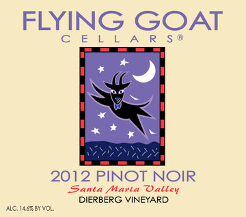 2012 Pinot Noir, Dierberg Vineyard Label Image