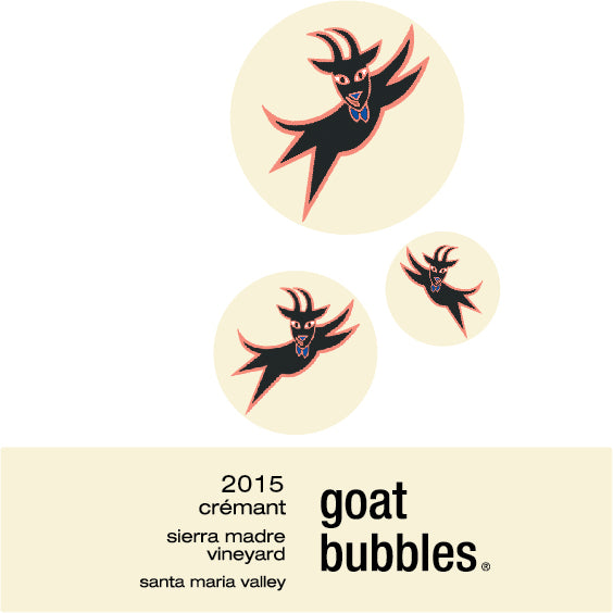 2015 Goat Bubbles, Crémant Label Image