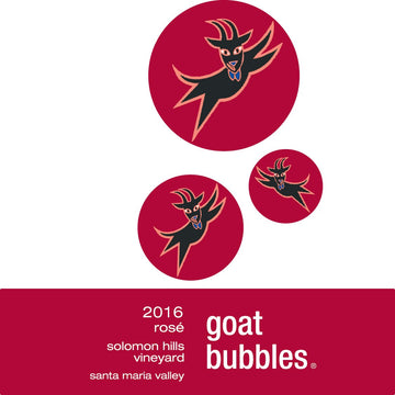 2016 Goat Bubbles, Rosé Label Image