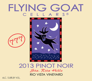 2013 Pinot Noir, Rio Vista Vineyard Clone 777 Label Image