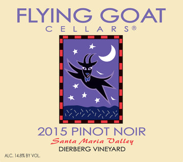 2015 Pinot Noir, Dierberg Vineyard Label Image