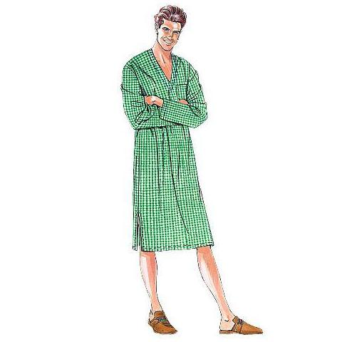 McCalls 6231 / Mens Pajamas + Robes
