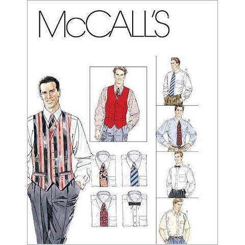 McCalls 2447 / Mens Vests + Ties