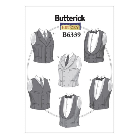 Butterick 6339 / Mens Vests