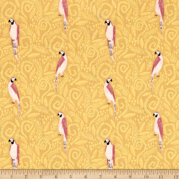 Birds in Paradise in Gold