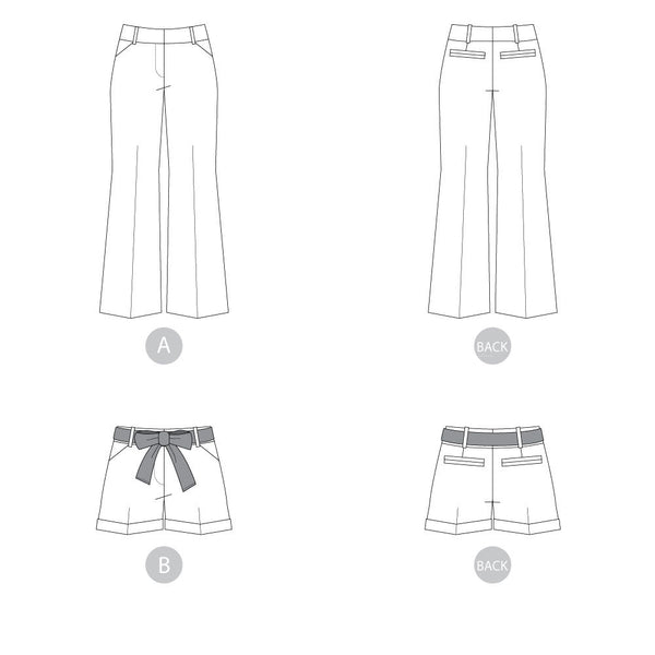 Thurlow Trousers + Shorts