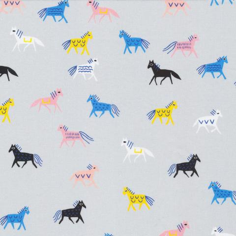 Organic Cotton Print / Horse of a Different Color