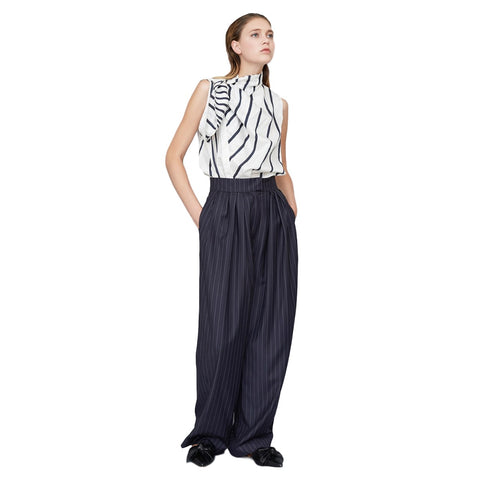 301 / Loose Pleat Front Trousers