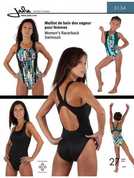 Racerback Swimsuit 3134
