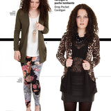 Drop Pocket Cardigan 3248