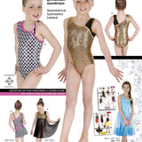 Asymmetrical Gymnastics Leotard 3354