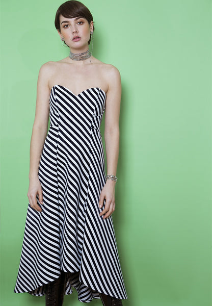 913 / Strapless Dress + Top