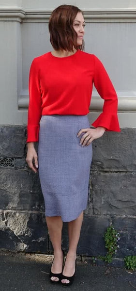 Agatha Pencil Skirt
