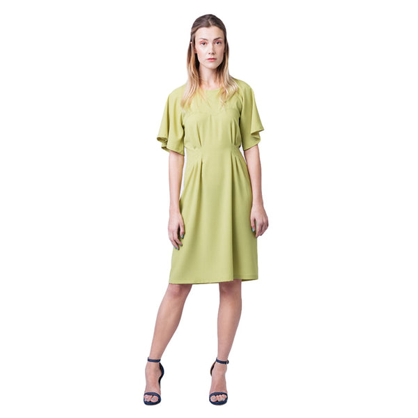 Ansa Butterfly Sleeve Dress + Blouse