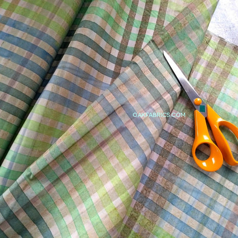 Cotton Batik / Spring Plaid