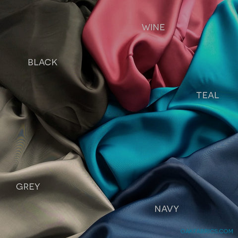 Bemberg Rayon Lining / 5 Color Options