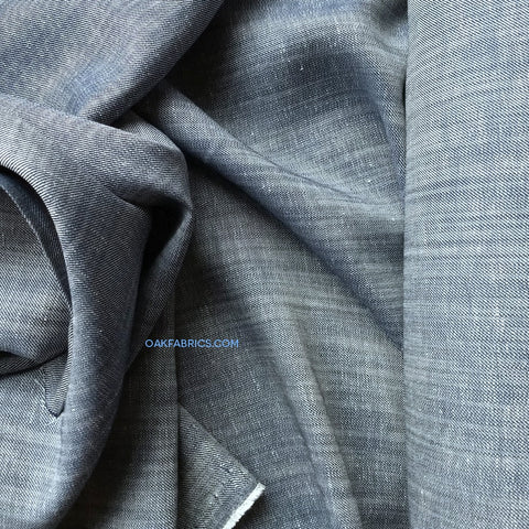 Linen Cotton Chambray / Indigo