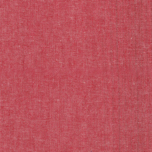 Cherry Crimson Chambray