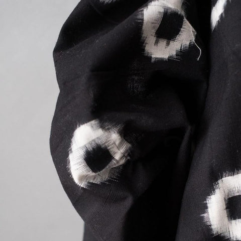Eye Ikat in Black