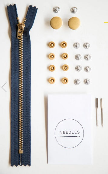 Fly Front Jeans Hardware KIT