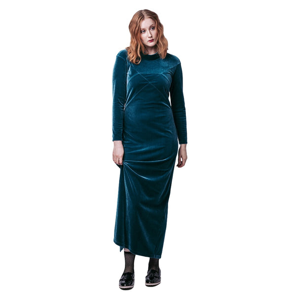Gemma Maxi Dress + Sweatshirt