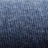 2X2 Cotton Ribbing / Blue Heather