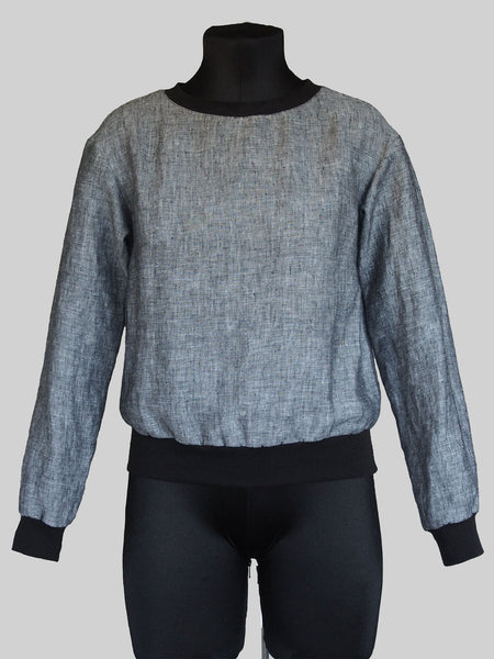 High Cuff Sweater