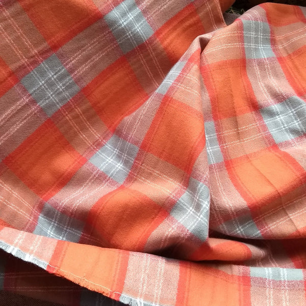 Mammoth Flannel in Orange Spice