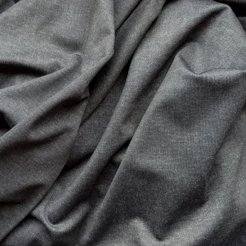 Levi Stretch Viscose in Charcoal