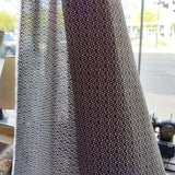 Little Geo Stretch Voile in Black Bronze