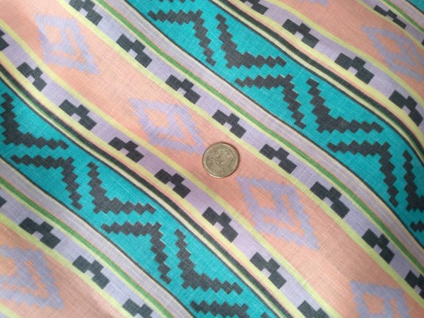 Linen Southwest Stripe in Pastel