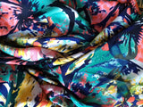 Poly Charmeuse / Paradise Floral