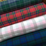 Plaid Cotton Flannel / Green