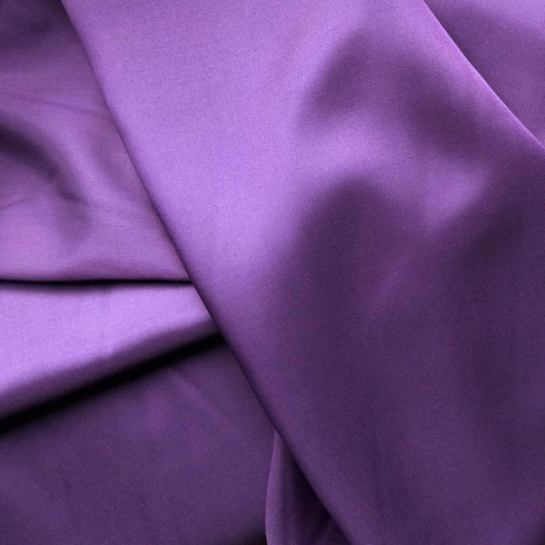 Poly Rayon Lining / Plum
