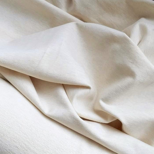 Cotton French Terry / Heathered Almond