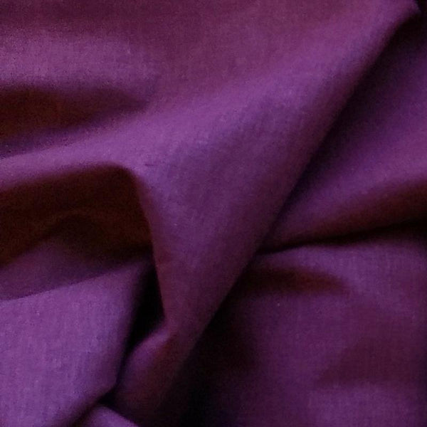Stretch Linen Viscose / Blackberry
