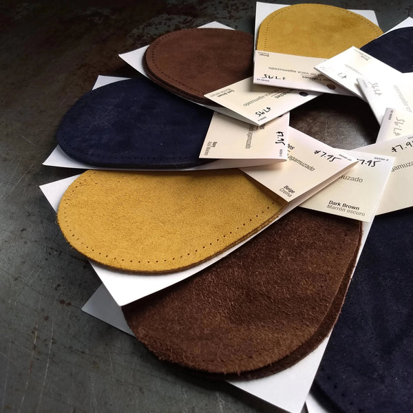 Suede Elbow Patches / 2 Pack / 4 Color Options