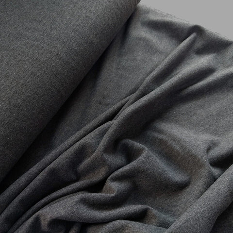 Bamboo Fleece / Dark Grey Melange